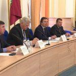 В Овальном зале Правительства Брянской области состоялась пресс-конференция об исполнении программы капитального ремонта
